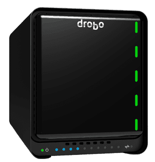 Drobo 5d back ups hard drive