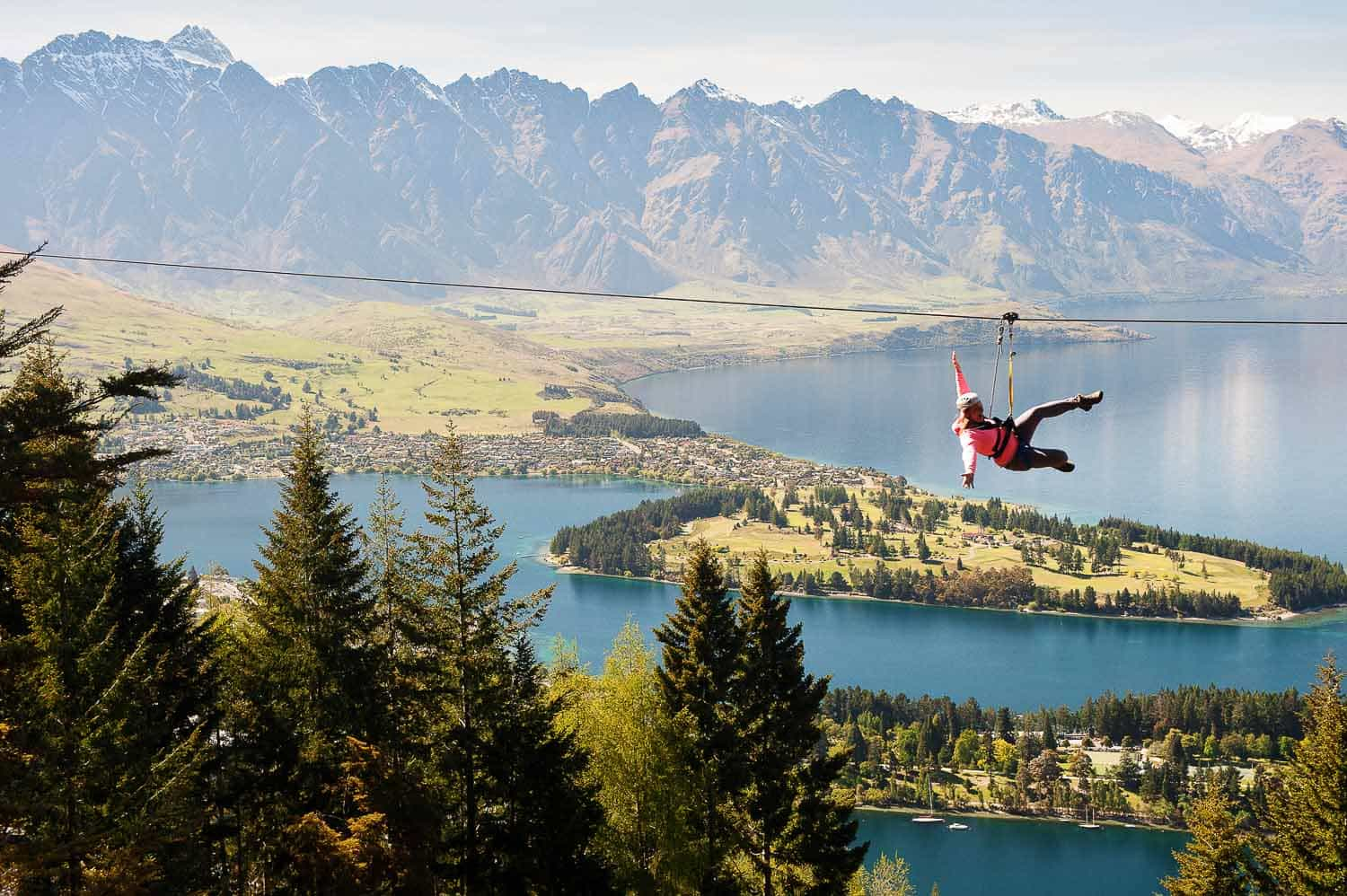 blog post featured image Queenstown Commercial Photography A photo I took for Ziptrek Ecotours last summer is making waves... fallon photography