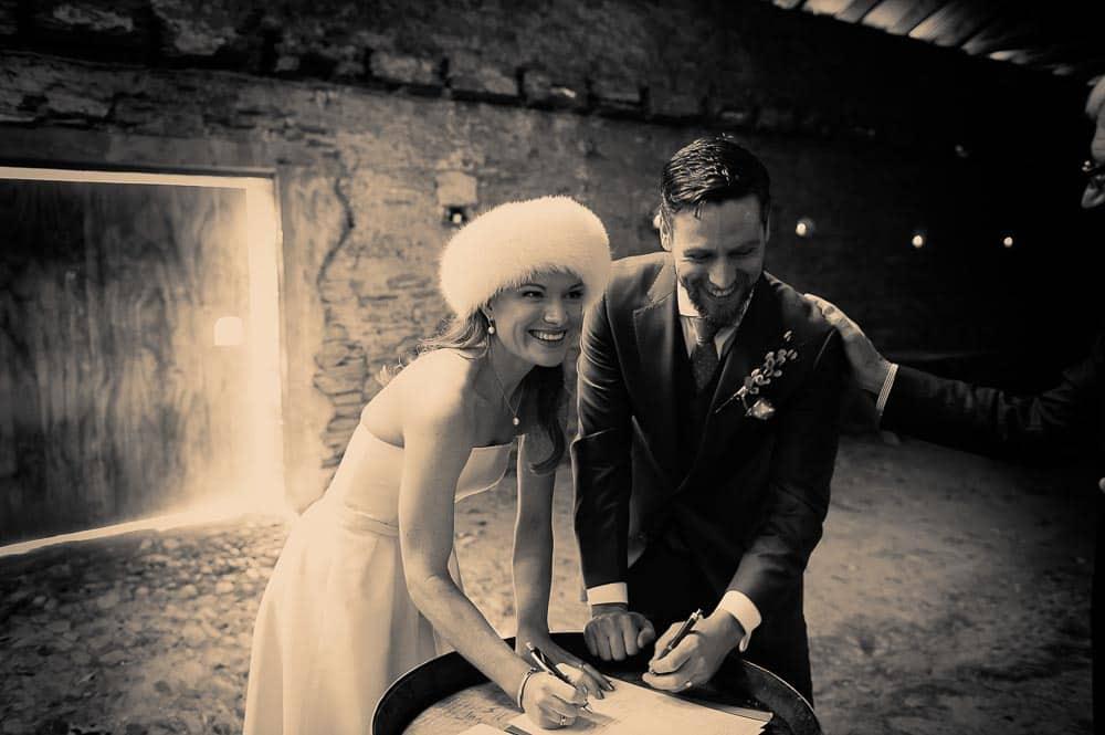 Thurlby Domain winter wedding Cat & Cass's pretty damn awesome Queenstown Winter Wedding fallon photography