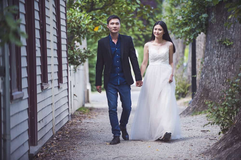 Arrowtown trash the dress session