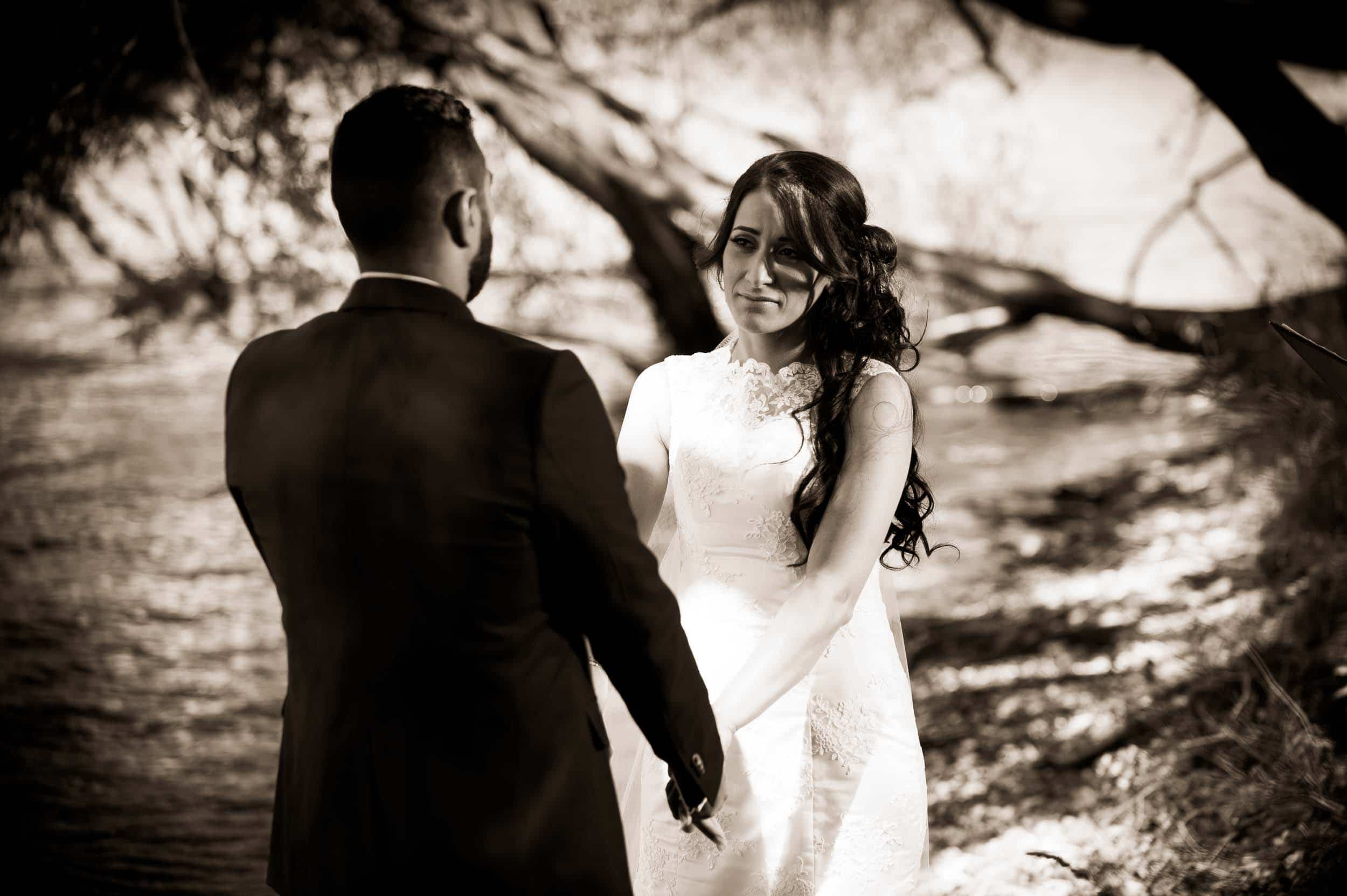 relaxed happy romantic elopement