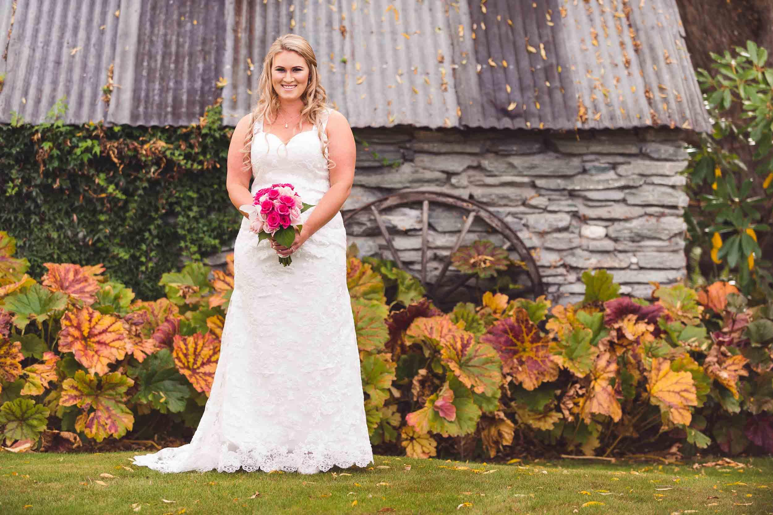 autumn Arrowtown wedding