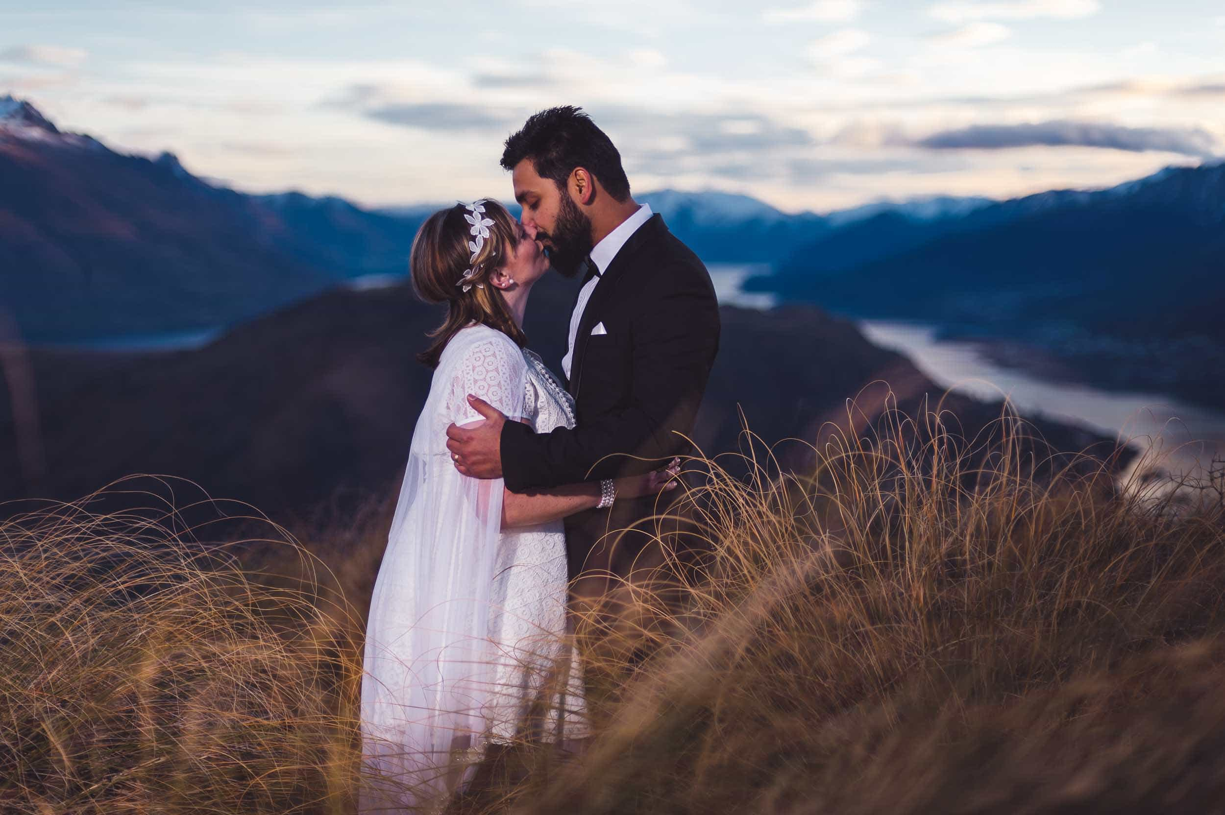 blog post featured image Winter Queenstown Pre Wedding Photography