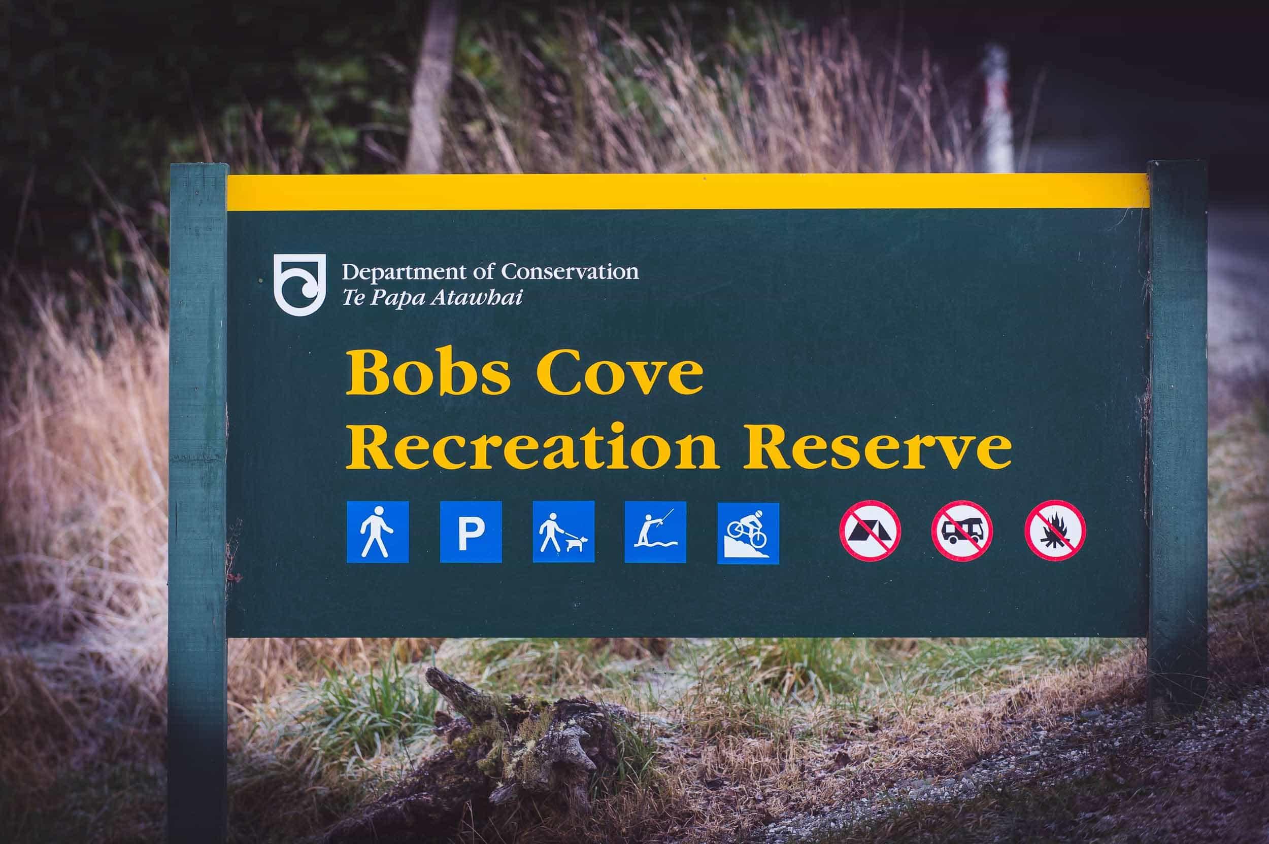 Bobs Cove Queenstown destination lakeside elopement