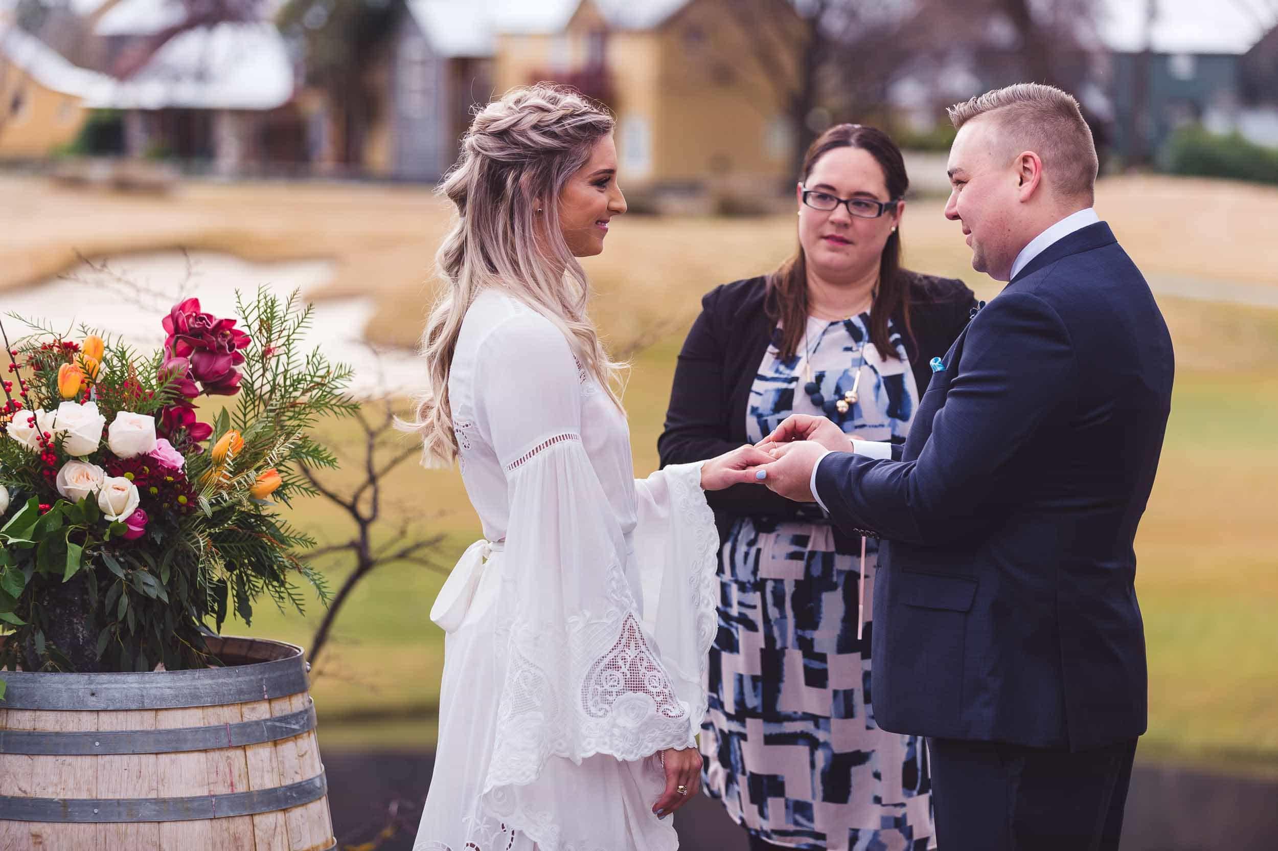 blog post featured image Laura + Nick | Winter Wedding at Milbrook Resort fallon photography