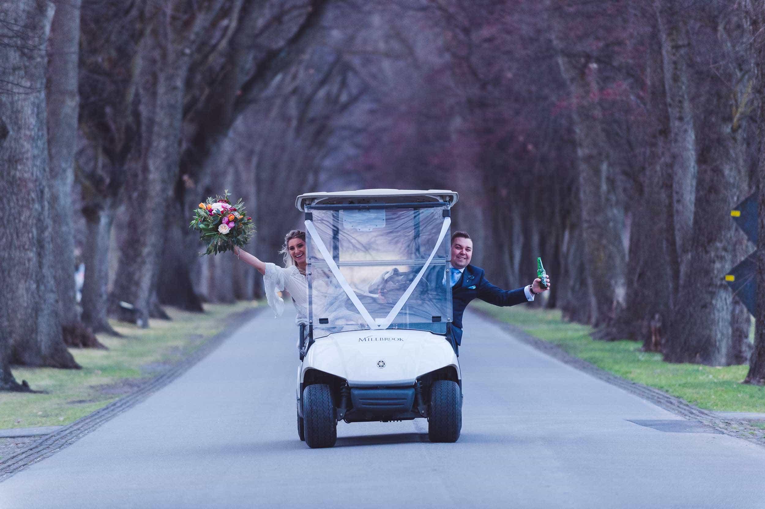 Millbrook resort winter wedding secret garden ceremony
