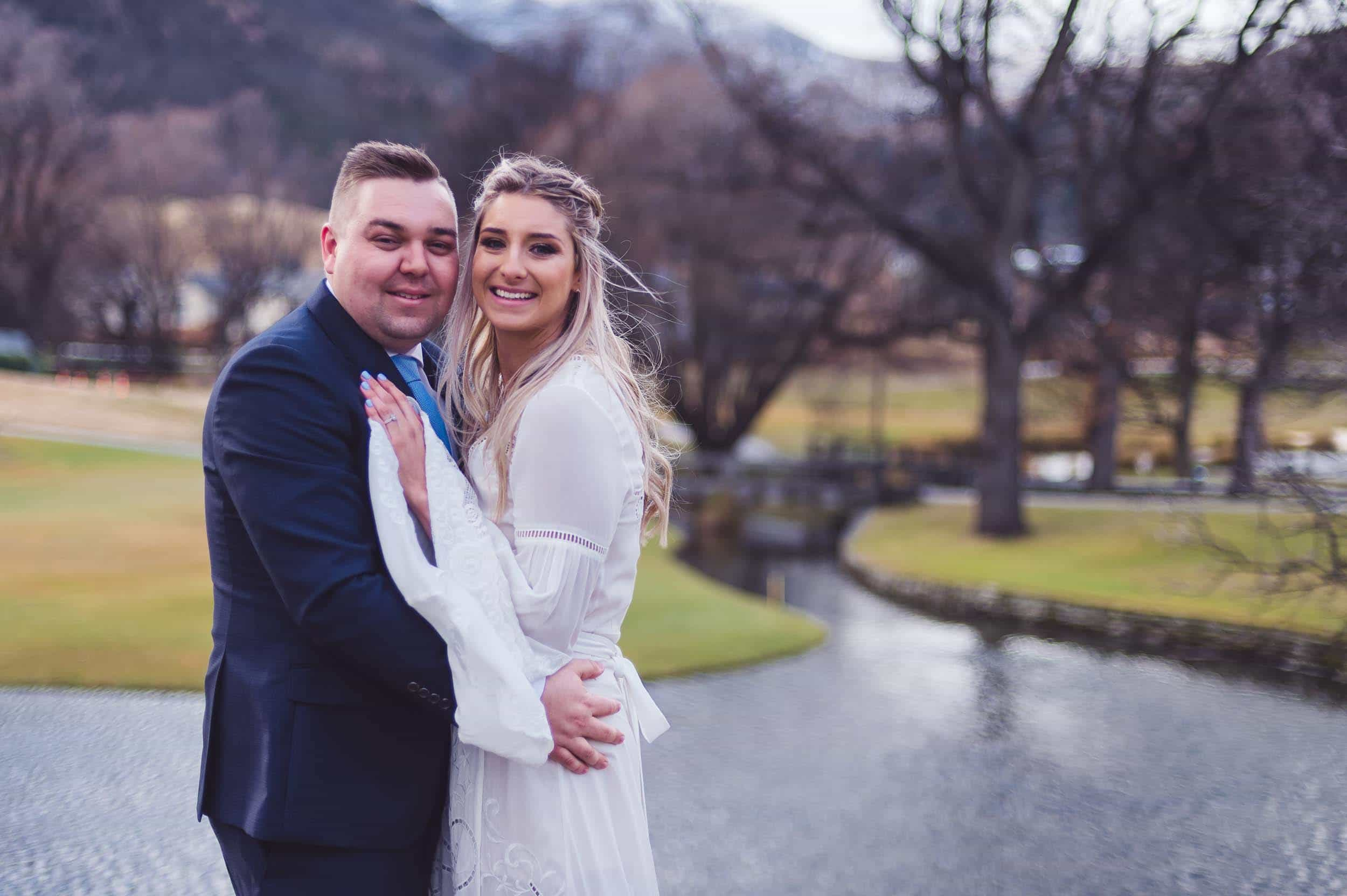 Laura + Nick | Winter Wedding at Milbrook Resort fallon photography