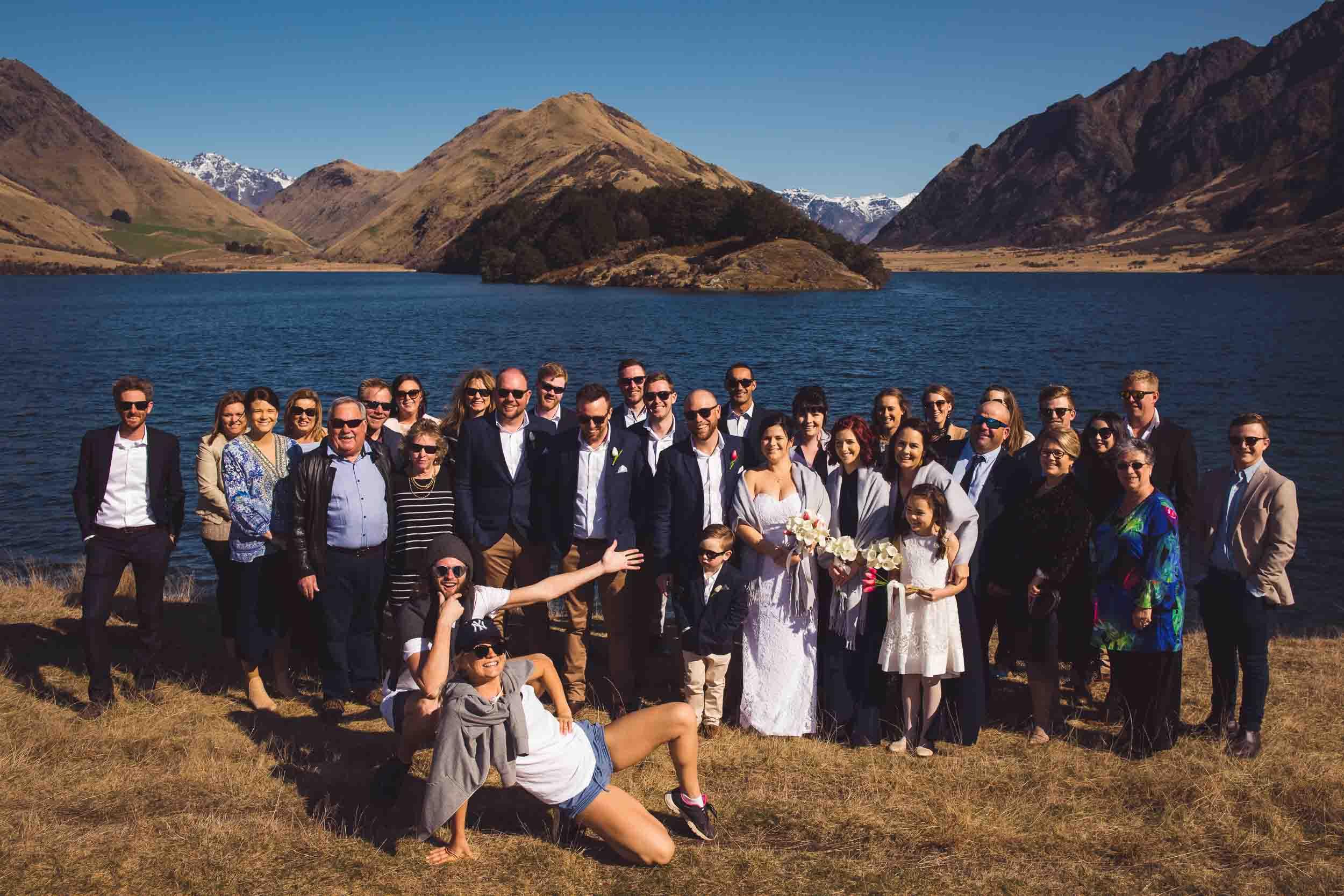 Jade & Lucas's Stunning Moke Lake Queenstown Wedding fallon photography moke lake queenstown