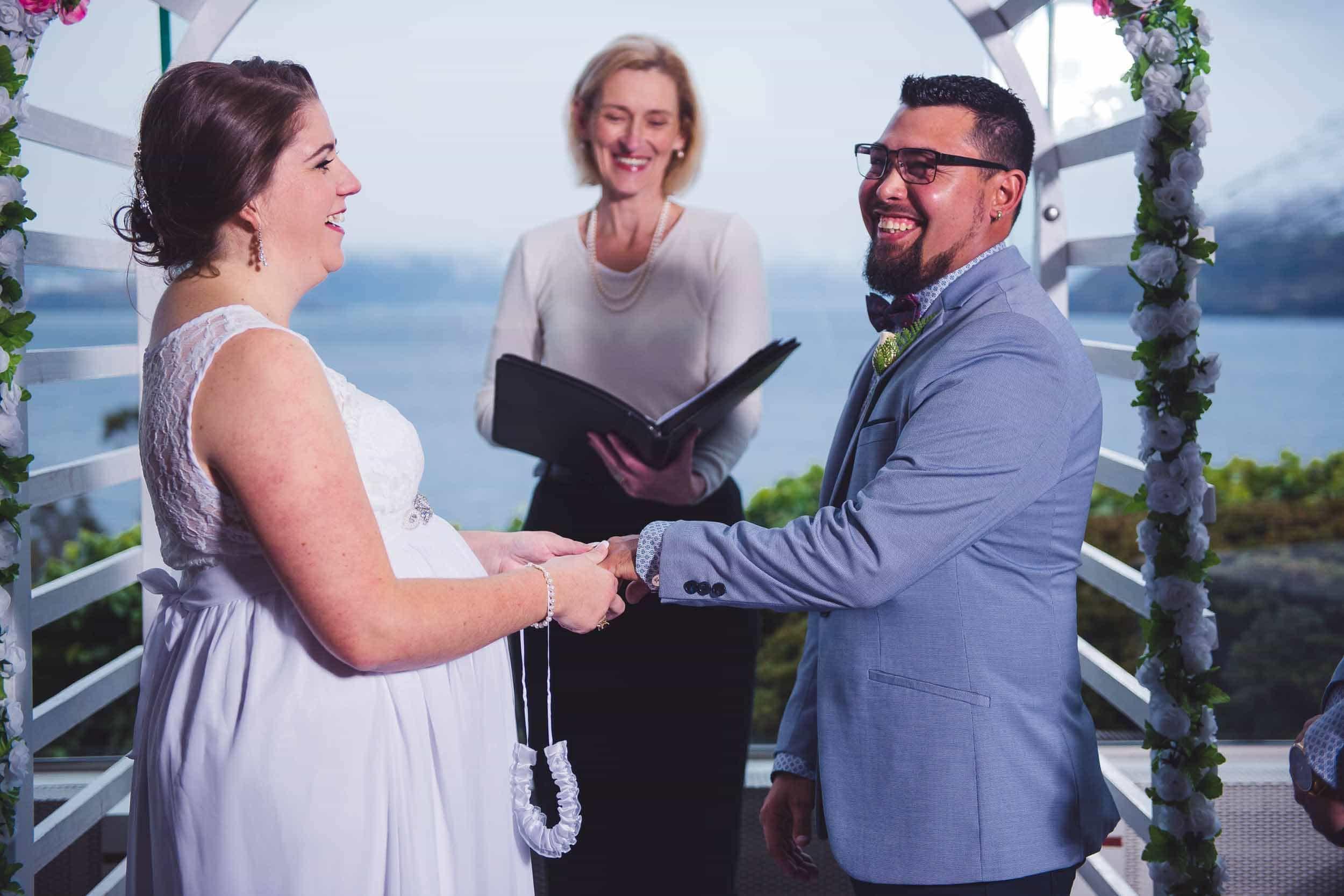 Crystal and Jonathan's Mercure Queenstown Resort Winter Wedding fallon photography