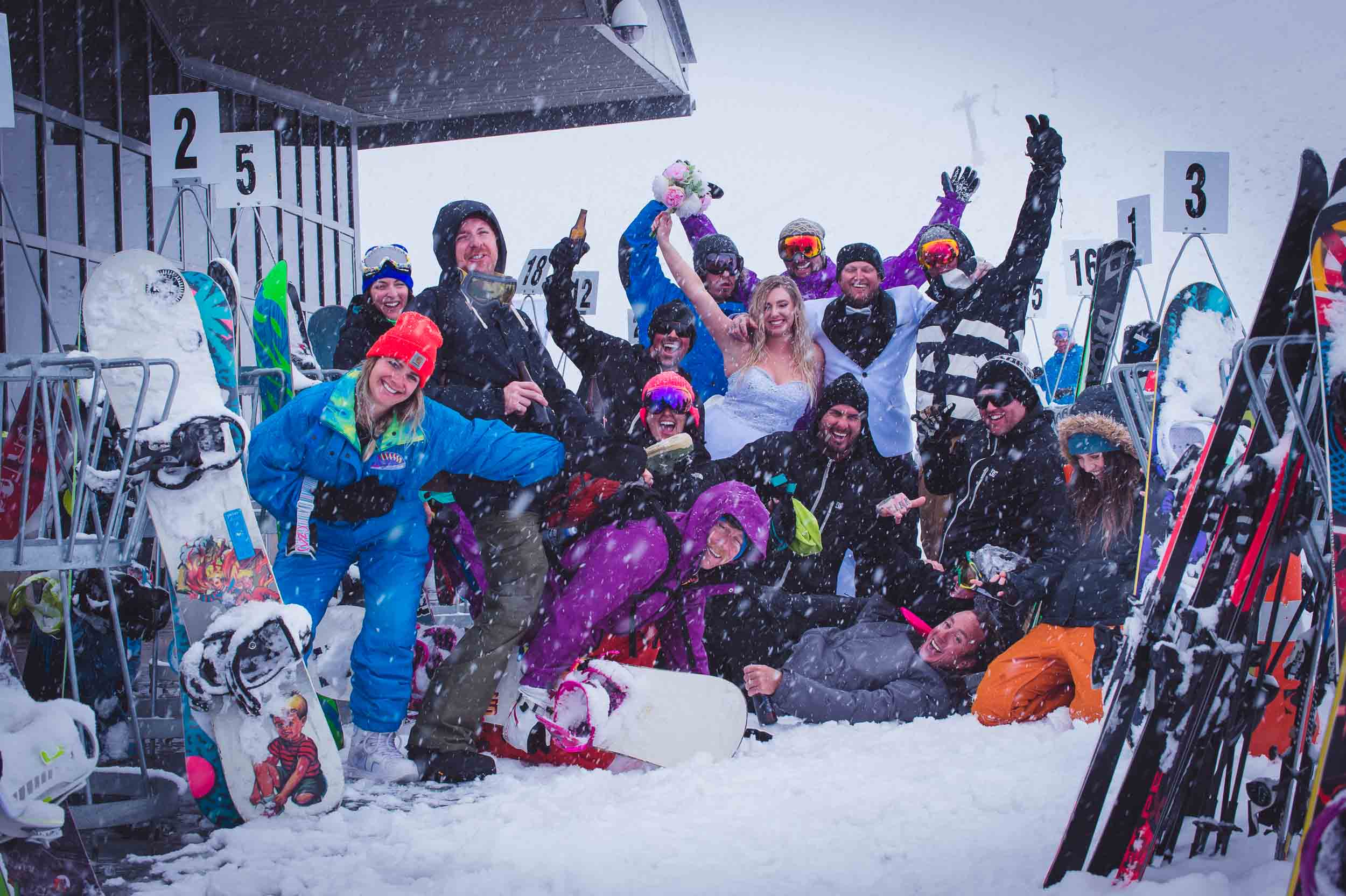 The Ultimate Guide To TOTALLY NAILING The Family Photos On Your Wedding Day Queenstown Snowboard Wedding
