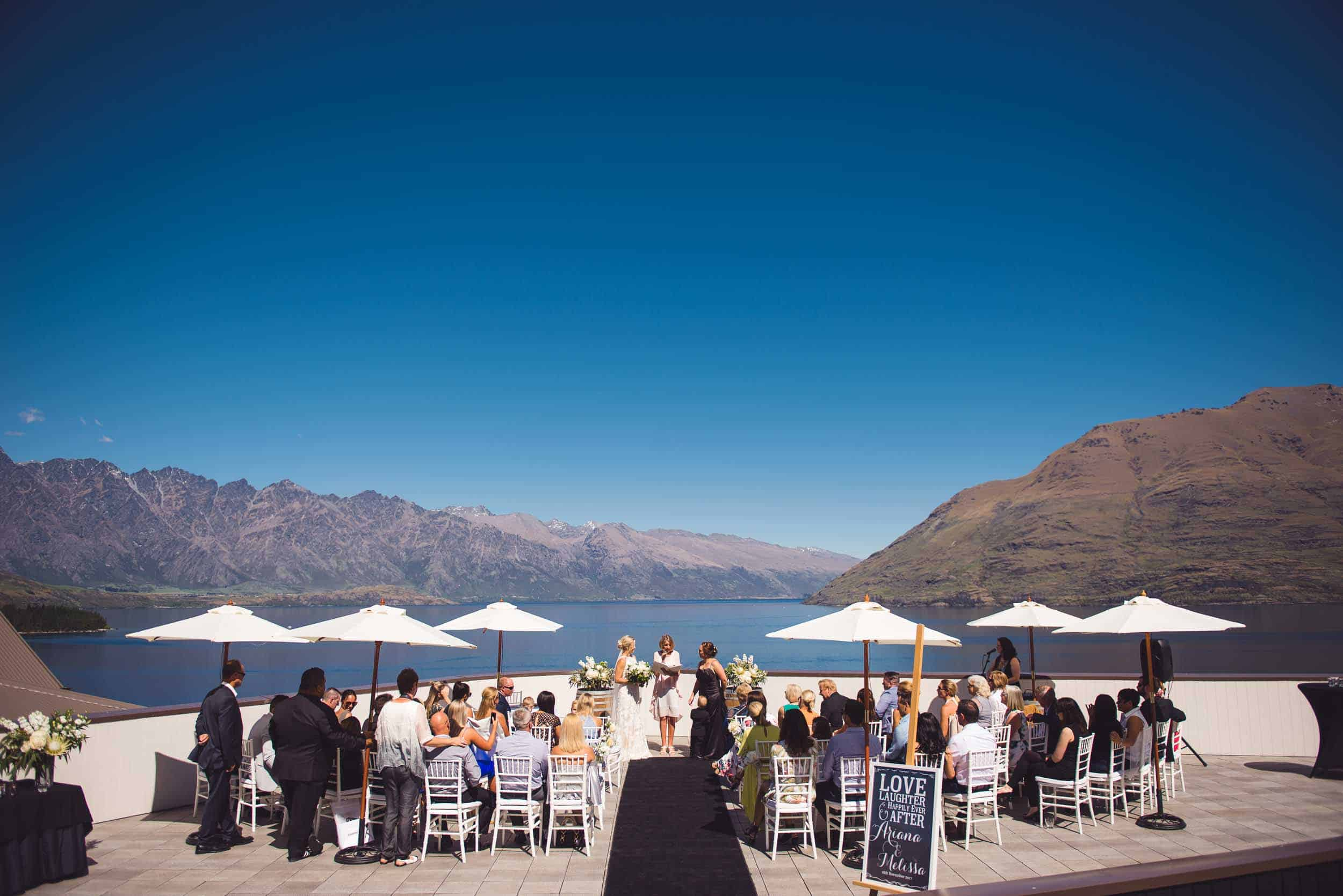 Heritage Hotel Wedding Queenstown roof-top heritage queenstown
