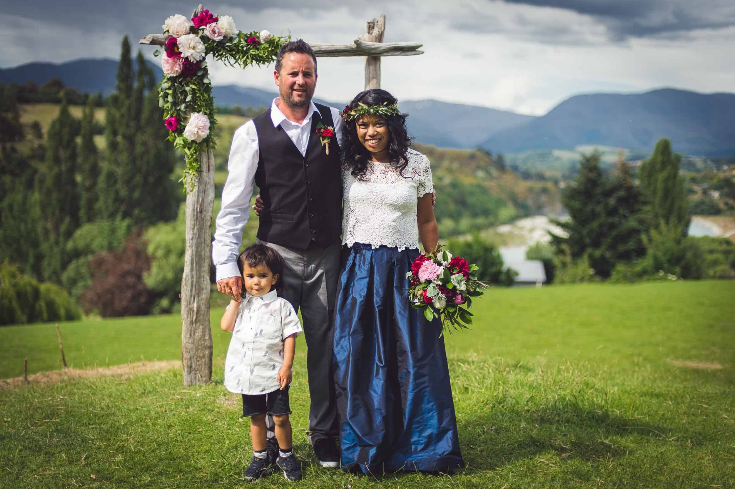 Queenstown Hill Station Wedding Middletons Woolshed