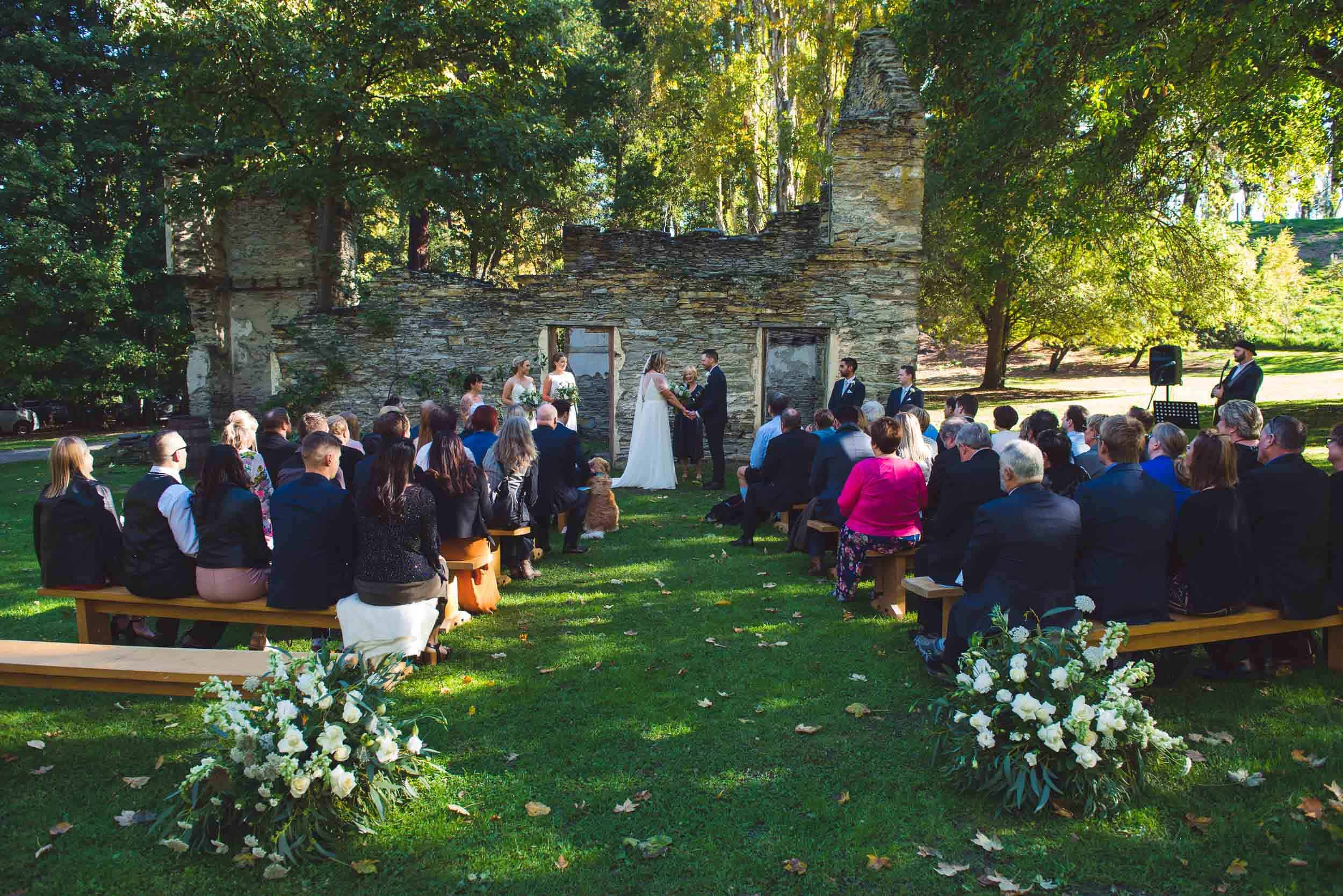 Thurlby Domain Autumn Wedding