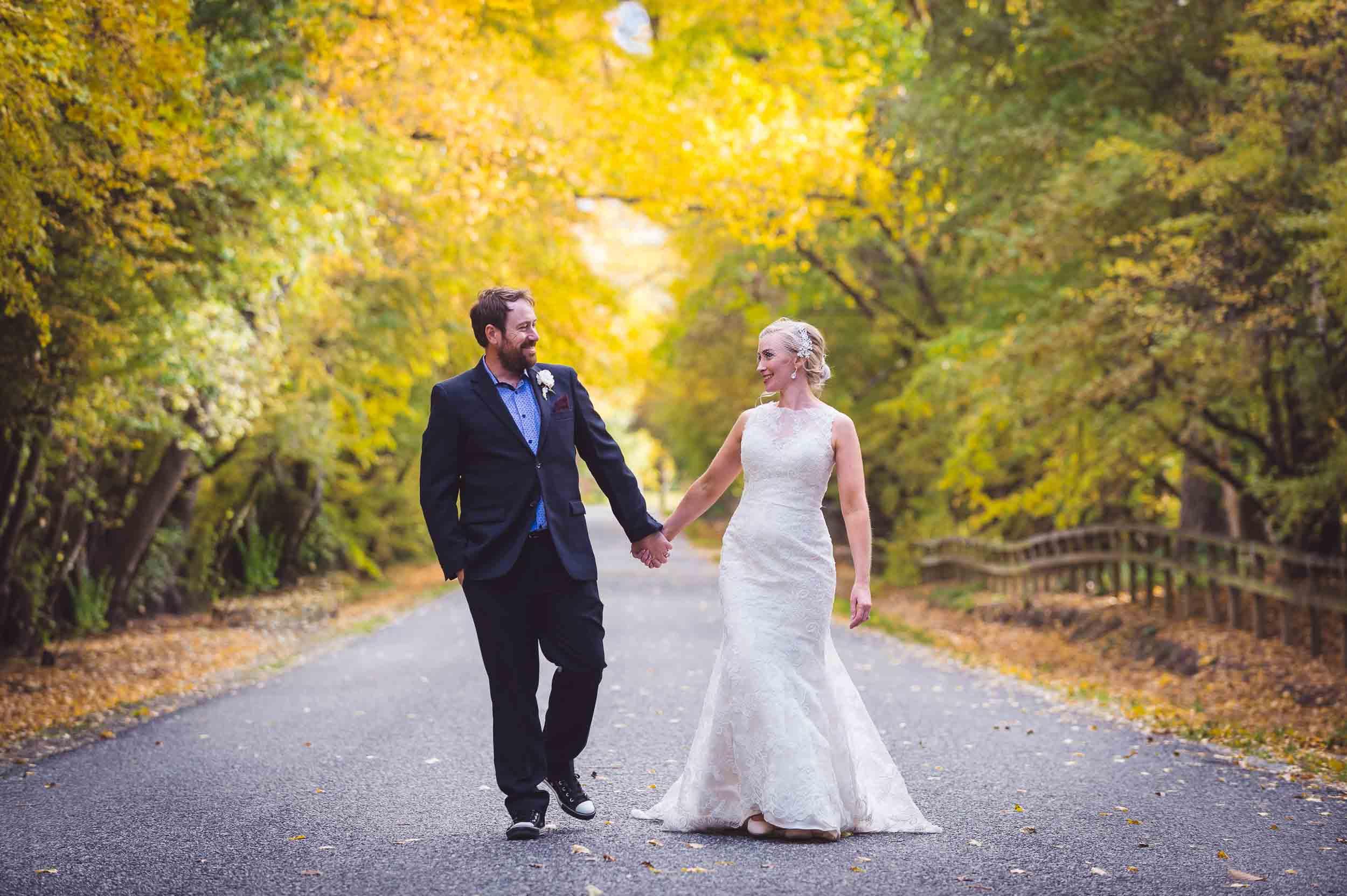 blog post featured image April & Nick's DIY Thurlby Domain Wedding
