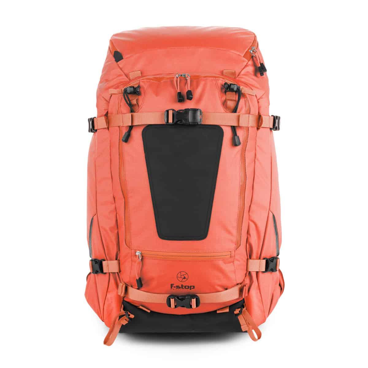 Mindshift Backlight 36L review Fstop Shinn Orange Front White Background