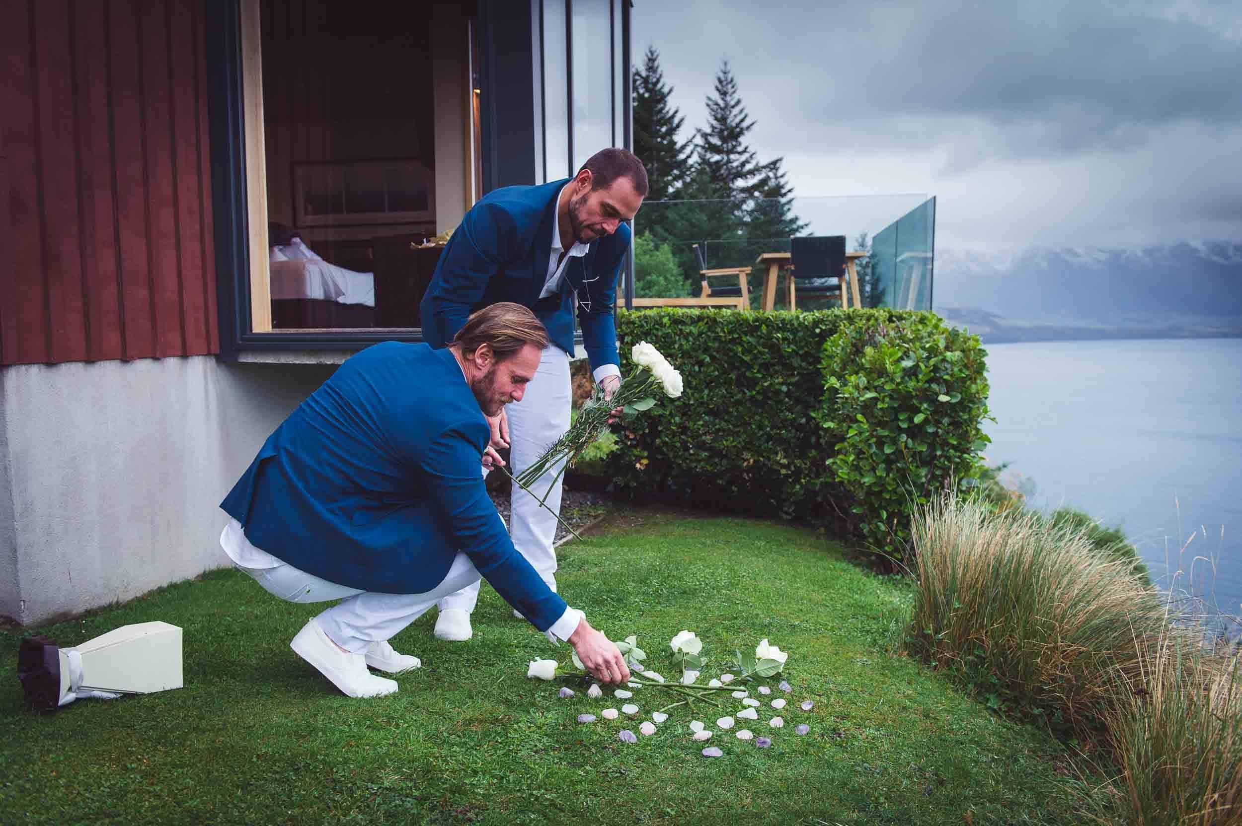 blog post featured image Edu & Paulo's Azur Luxury Lodge Queenstown Elopement