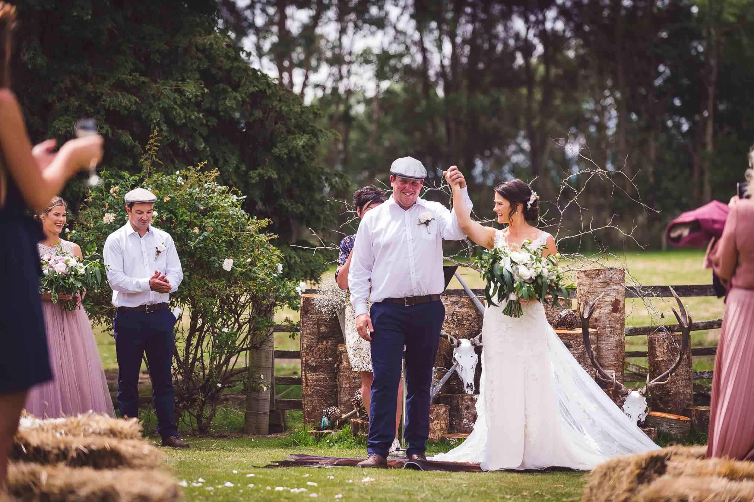 Megan Simon DIY Backyard Southland Wedding Photography