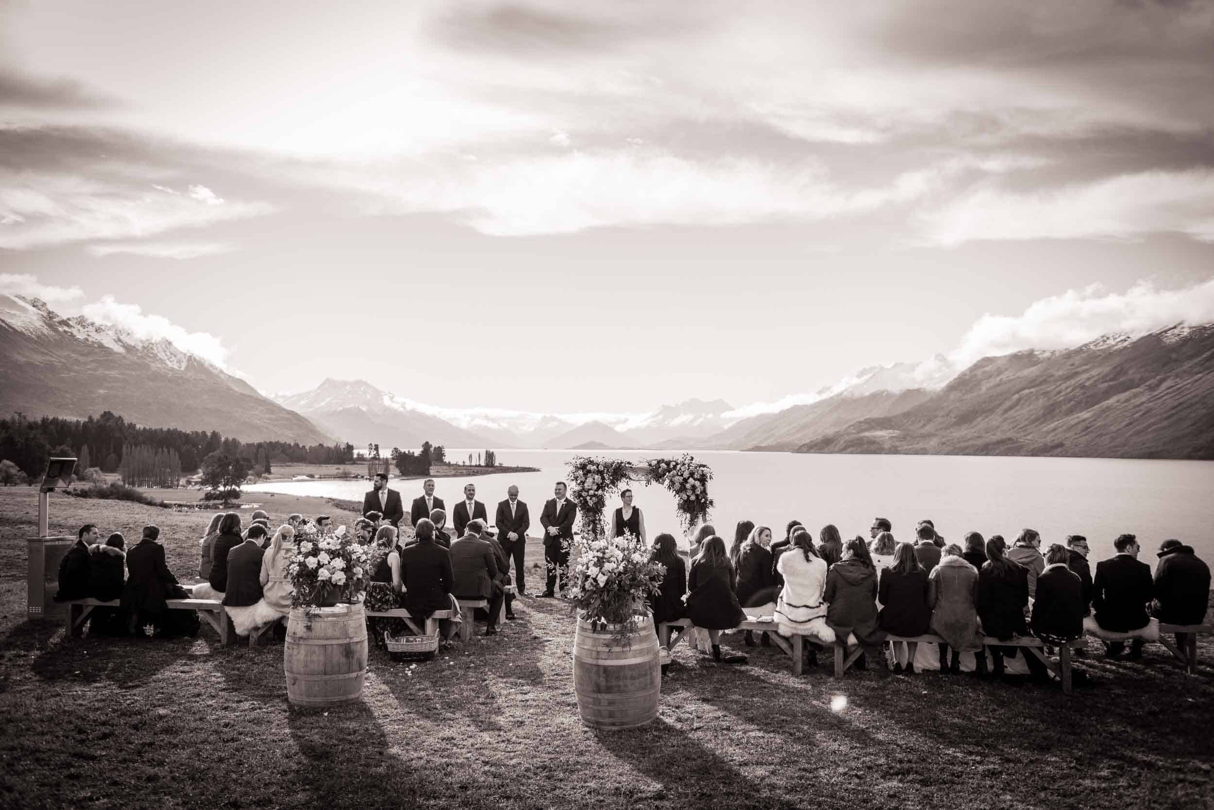 Mount Nicholas Wedding Evanna & Liam's Mount Nicholas Wedding Queenstown Farm wedding fallon photography
