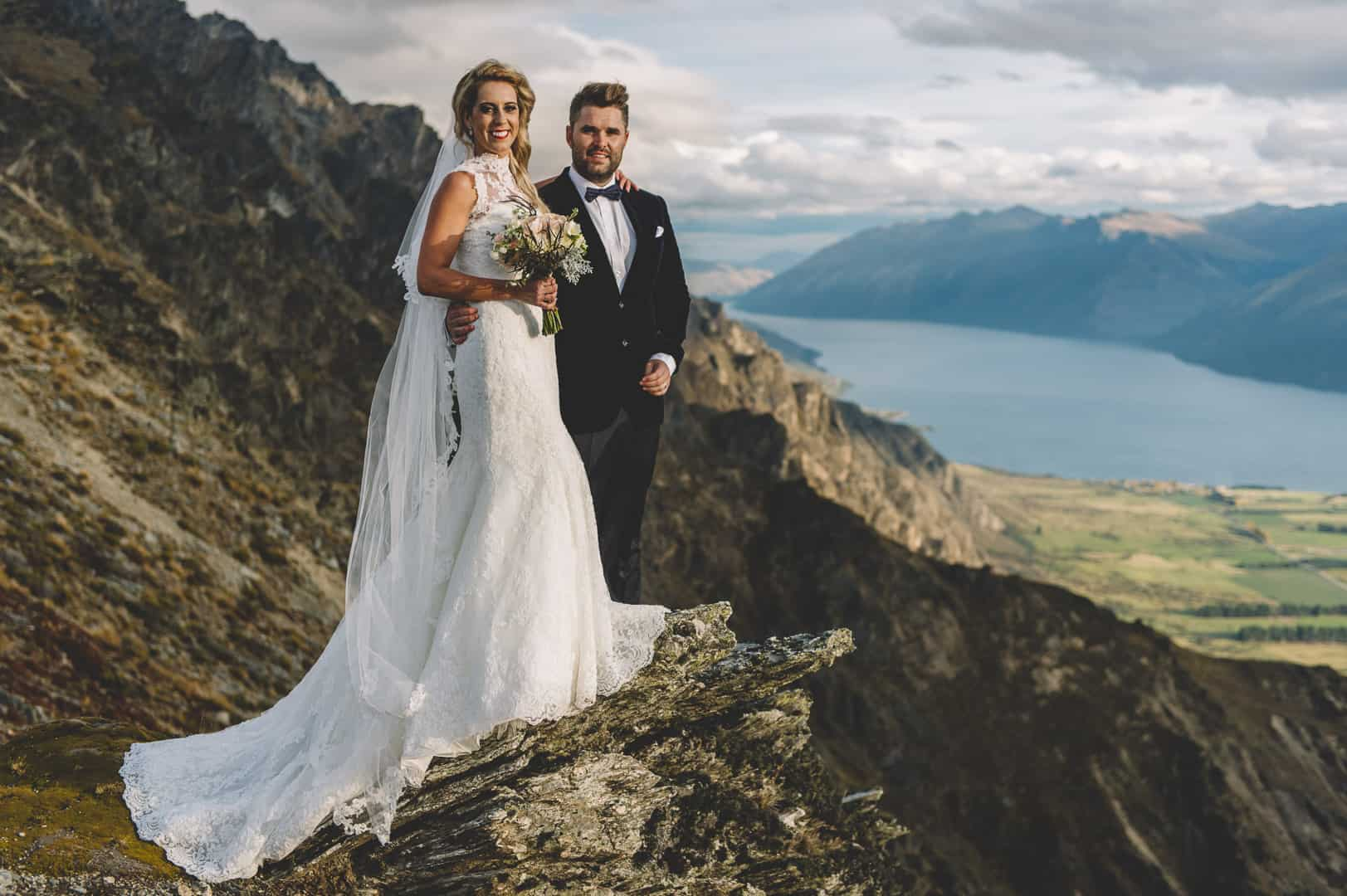 queenstown heli wedding photography