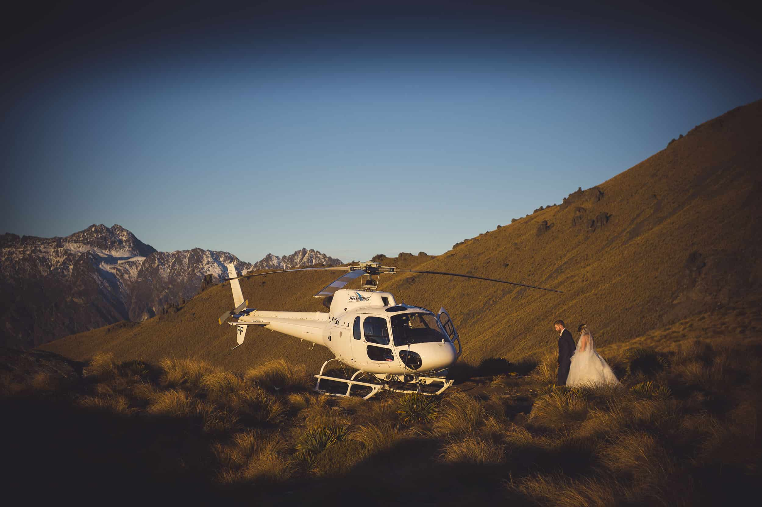 queenstown heli wedding photography by Fallon Photography