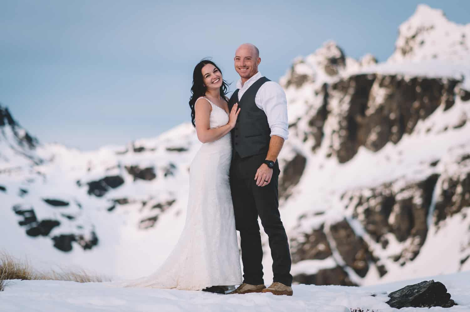 Cecil Peak Post-Wedding Heli Shoot