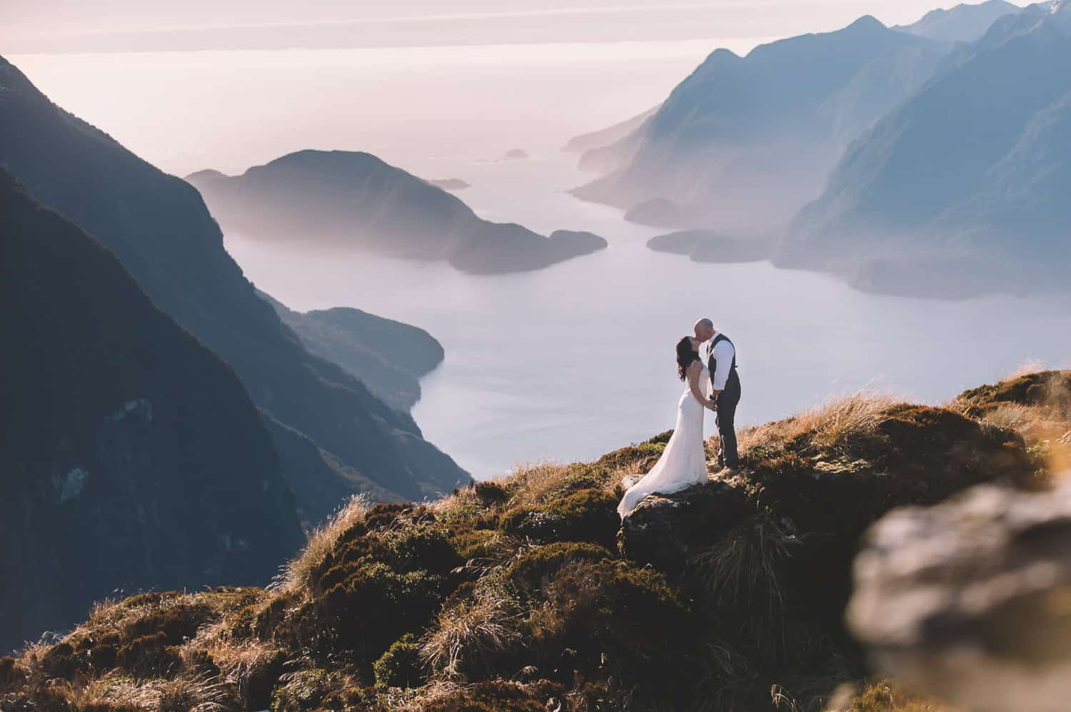 queenstown wedding photography packages Fiordland Post-Wedding Heli Shoot