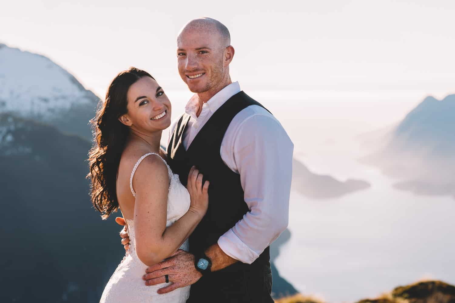 Fiordland Post-Wedding Heli Shoot