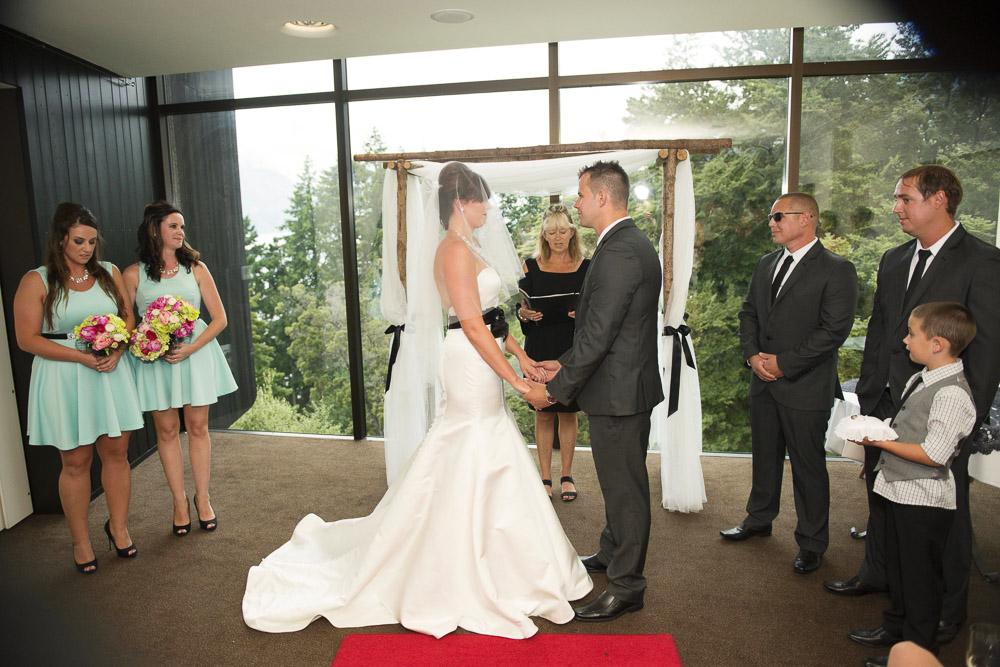 heritage hotel indoor wedding ceremony