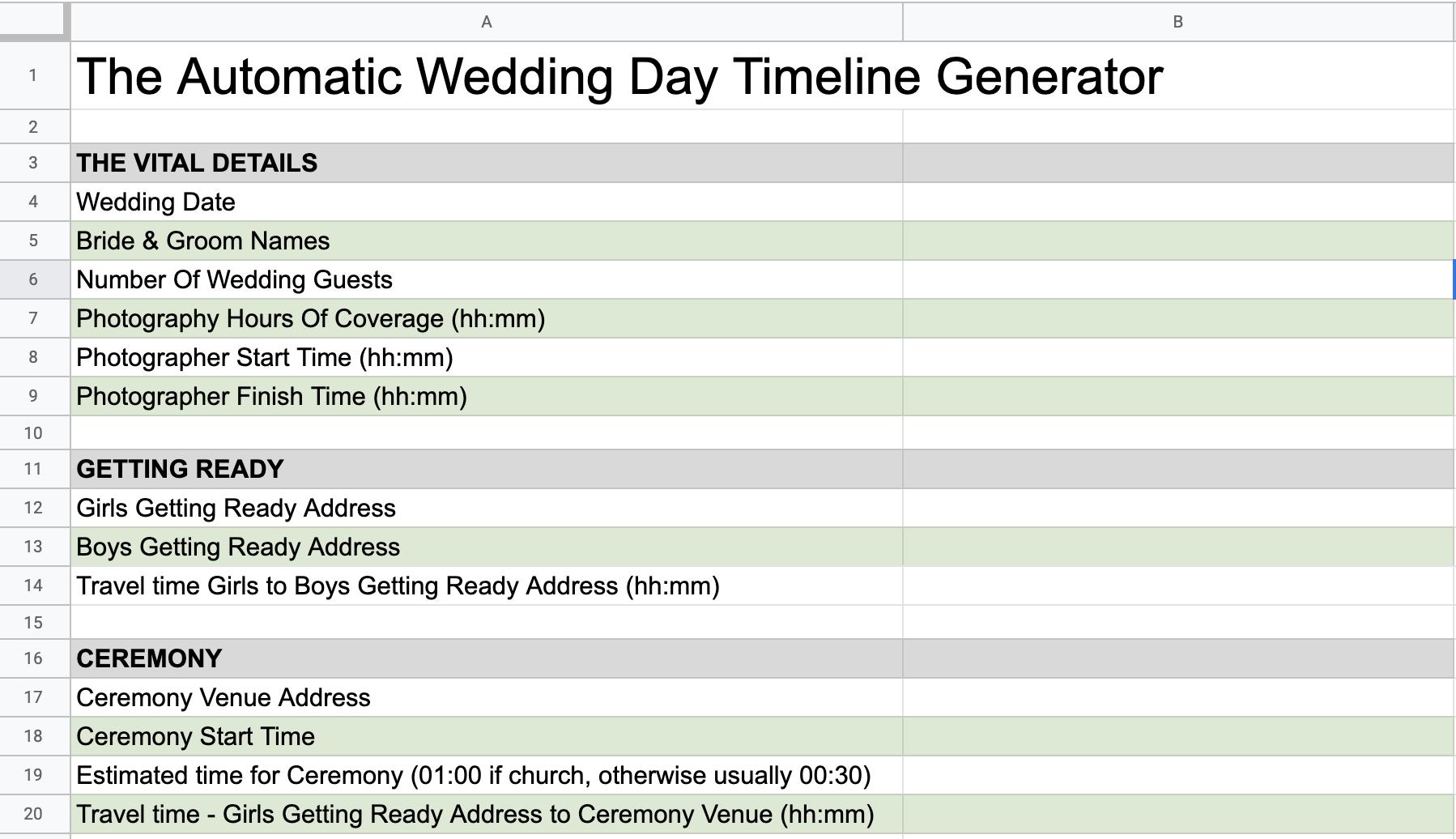 blog post wedding timeline nz blog post featured image automatic wedding day timeline generator