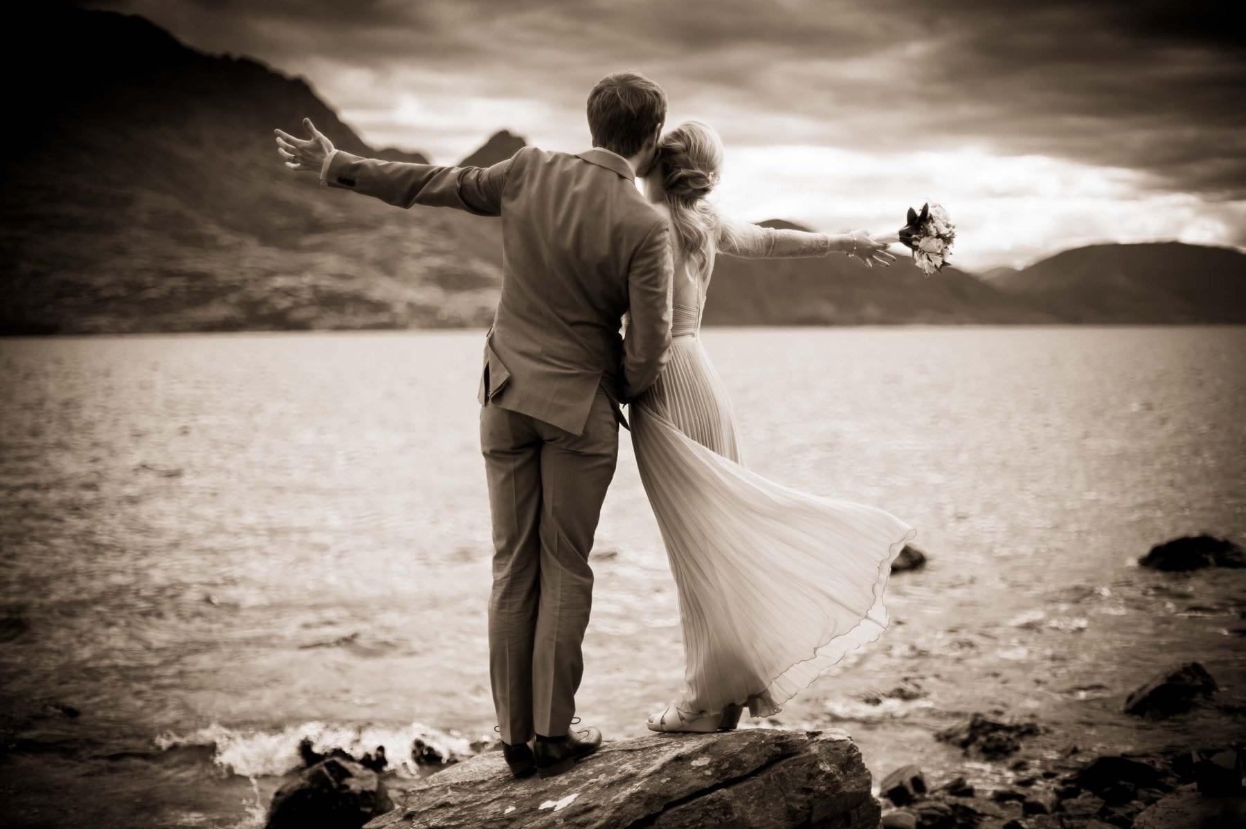 blog post featured image remarkables lookout elopement