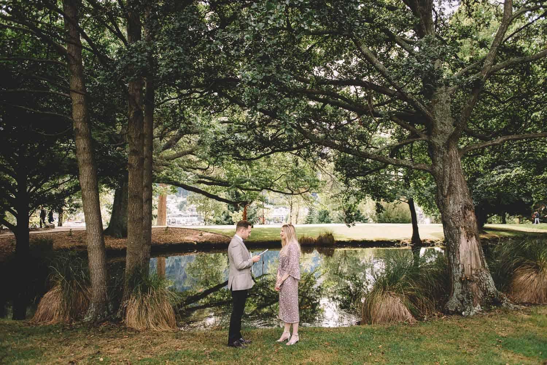 queenstown gardens elopement